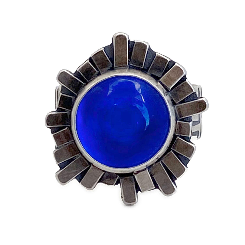 03a2_bluesterlingsilverglasssunburstring