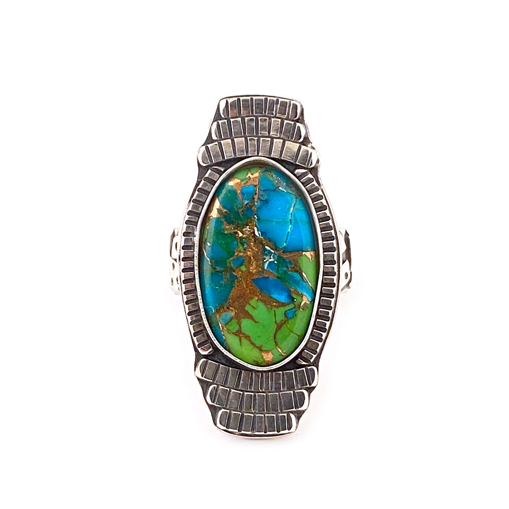 16_green_blue_turquoise_tribal_shield_ring