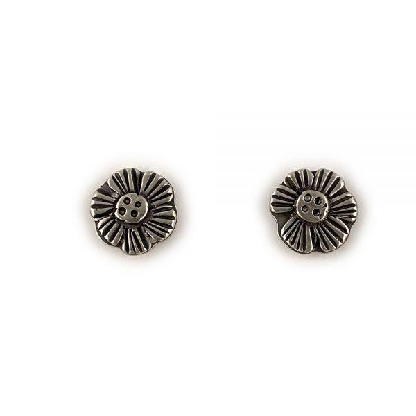 botanical flower earrings